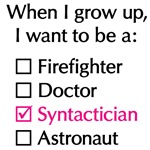 When I Grow Up (Syntactician)