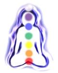 Meditating Spirit with Chakras
