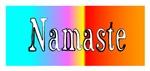 Namaste! Bright and Cheerful.