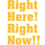 Right Here! Right Now!!: Orange