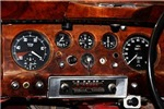 Vintage car dashboard radio