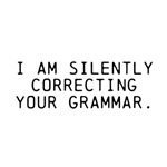 Correcting your grammar