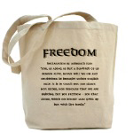 Freedom merchandise