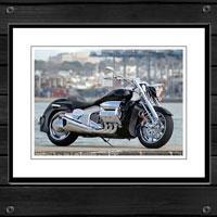 Framed Motorcycle Prints