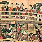 Ukiyoe The Bridge