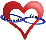 Infinite Love curved text