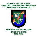 2nd Ranger Battalion Flash