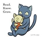 Cat & Kitten (colored)