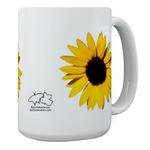 Big Flowers! (on large mugs)
