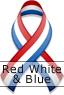 Red White & Blue Ribbon