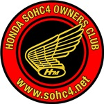 SOHC/4 Round Logo