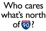 Who Cares What's North of I-90?