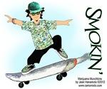 Marijuana Munchkins Skateboard