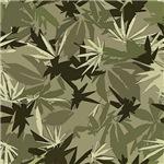 Camomoto Marijuana Fabric #6