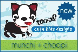 Munchi + Choopi - Cute Kids Designs