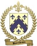 BARRILLEAUX Family Crest