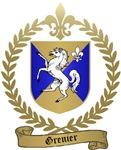 GRENIER Family Crest
