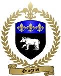 GINGRAS Family Crest