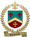 ROUSSELLE Family Crest
