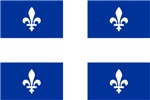 QUEBECOIS [French-Canadian] Flag