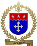 GENDREAU Family Crest