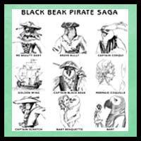 Black Beak Saga Characters