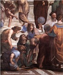 School of Athens (detail - Euclid)