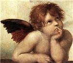 The Sistine Madonna (2nd detail)