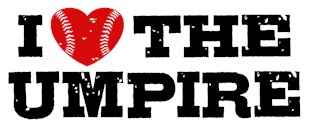 I Love The Umpire t-shirts