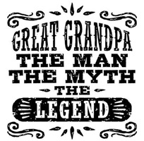 Great Grandpa t-shirts