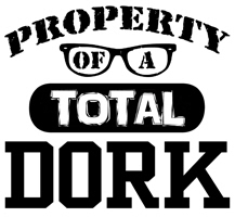 Total Dork t-shirts