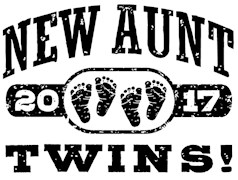 New Aunt Twins 2017 t-shirts