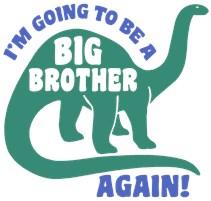 Big Brother Again Dinosaur t-shirt