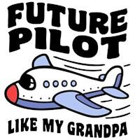 Future Pilot Like My Grandpa t-shirt
