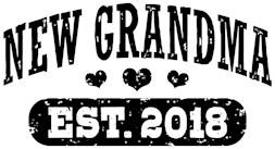 New Grandma Est. 2018 t-shirt