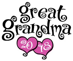 Great Grandma 2018 t-shirts