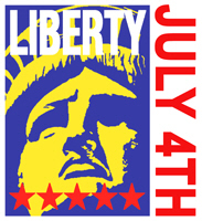 Liberty July 4th t-shirts