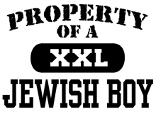 Property of a Jewish Boy t-shirt