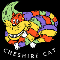Cheshire Cat T-shirt and More.
