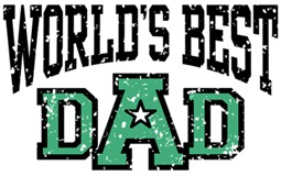 World's Best Dad t-shirts