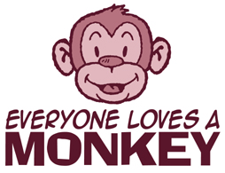 Everyone loves a Monkey t-shirts