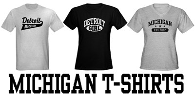 Michigan t-shirts