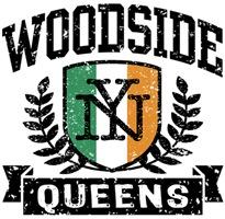 Woodside Queens NY Irish t-shirts