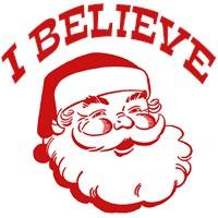 I Believe Santa t-shirt