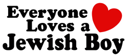Everyone loves a Jewish Boy t-shirts