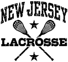 New Jersey Lacrosse t-shirts