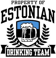 Estonian Drinking Team t-shirts