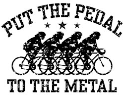 Pedal To The Metal (female) t-sh
