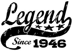 Legend Since 1946 t-shirt