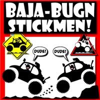 BAJA BUG Stickmen